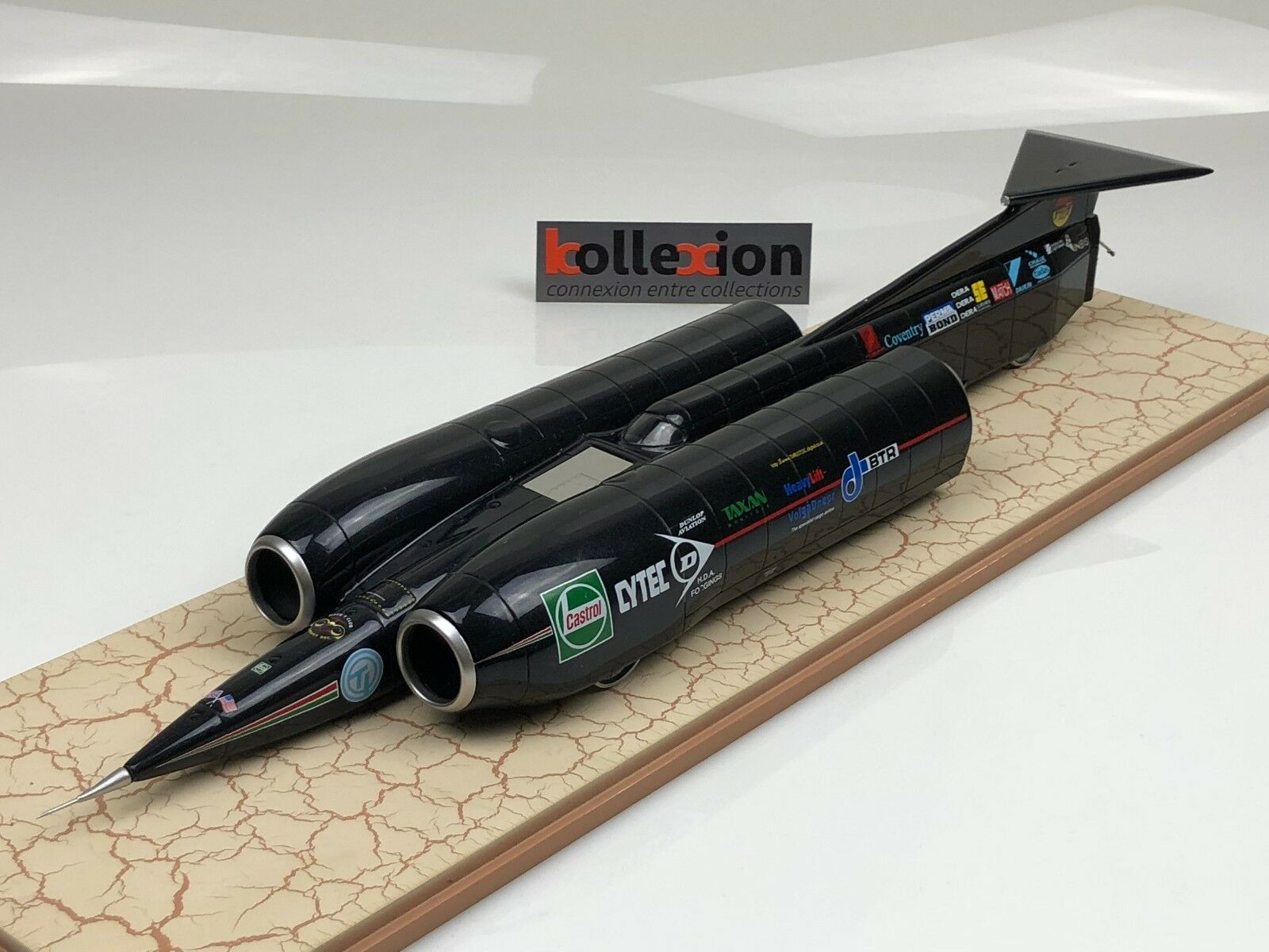 Rigby's thrust ssc record nero Rock 1997 763 mph Mach 1.02 andy verde 1.43