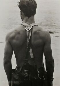 1981-Vintage-BRUCE-WEBER-Male-Model-JON-Clammer-Martha-Vineyard-Man-Photo-Art