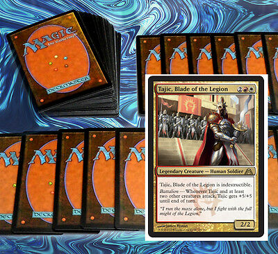 mtg WHITE RED BOROS COMMANDER EDH DECK Magic the Gathering 100 cards tajic