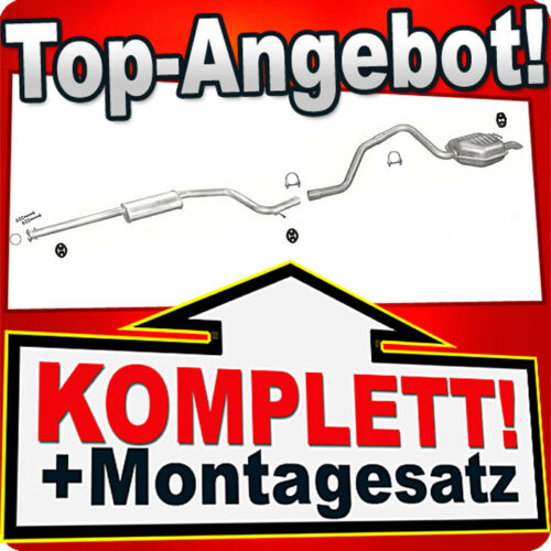 Auspuff FORD MONDEO MK3 2.0 2.2 TDCi TDDi Kombi Auspuffanlage 205