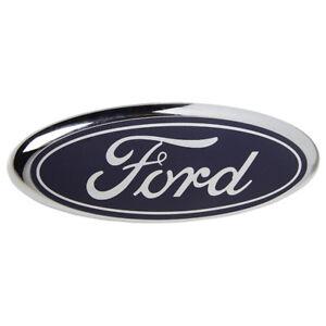 VM Part 1779943 Front Make Badge Blue Oval Ford Fiesta 01-08 Focus 03-11