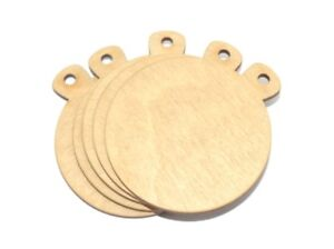100% De Qualité Vide Arts Et Crafts Médaille Formes - Fourni Avec Coloré, Ruban X5 Pack
