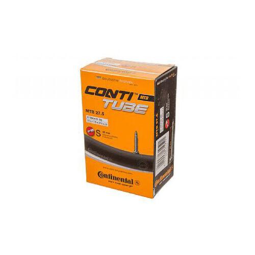 Continental MTB 27.5 Bike Tube 27.5 X 1.75 2.5 Pv 42mm 210G *Damaged Packaging*