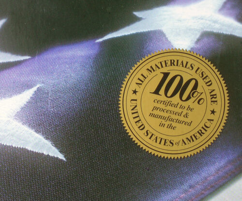 Embroidered 3-ft-by-5-ft American Flags *100/% MADE IN U.S.A.* Allied Flag™ 3/'x5/'