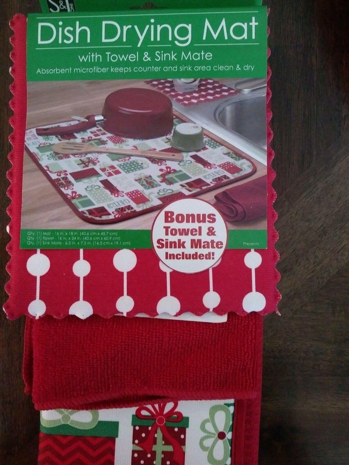 Kitchen Household Microfiber Dish Drying Mat Pad Sink Tableware Towel S5T7