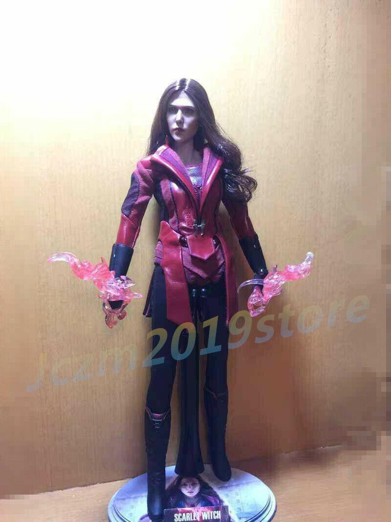 1 6 SCochelet Witch Elizabeth Olsen 2.0 Conjunto de Ropa para 12  Figura De Hot Juguetes Kumik