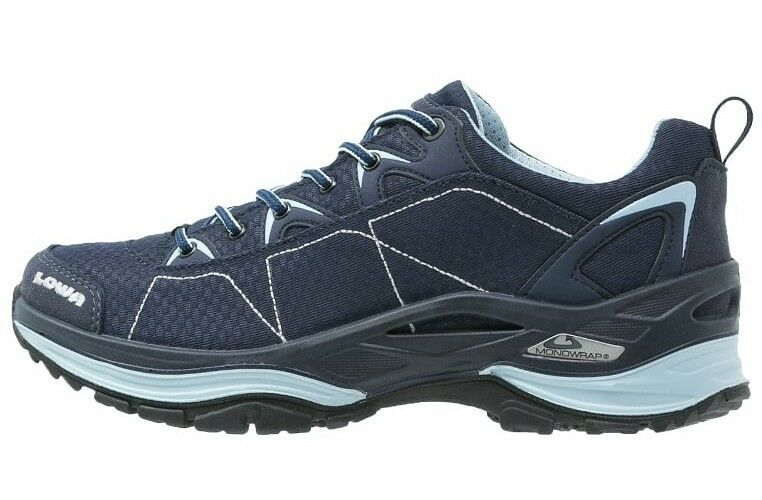 Lowa Ferrox GTX Low Women's Hiking shoes in Navy Ice bluee sz RRP