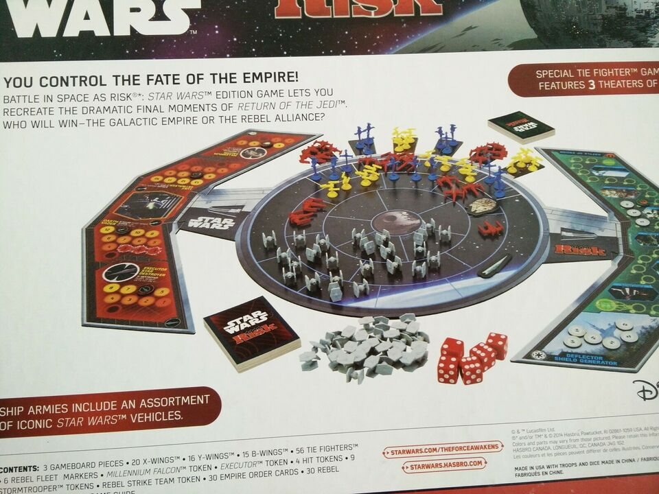 Star Wars Risk, brætspil
