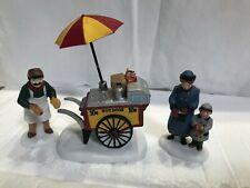 in Box Dept 56 Accessories ~ Heritage Village Hot Dog Vendor Set of 3