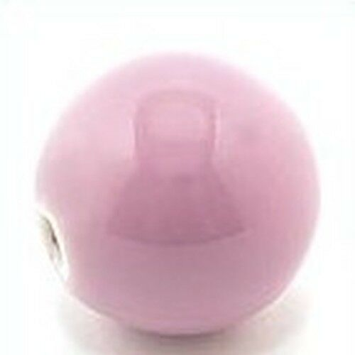 18mm lavendel 1 Keramikperle Pasipo ca
