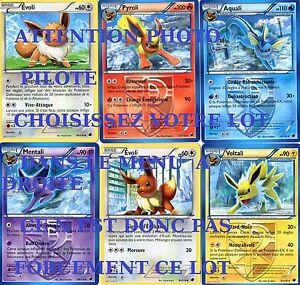 Pokemon 6 cartes mentali voltali pyroli evoli aquali etc glaciation plasma ebay - Carte pokemon team plasma ...