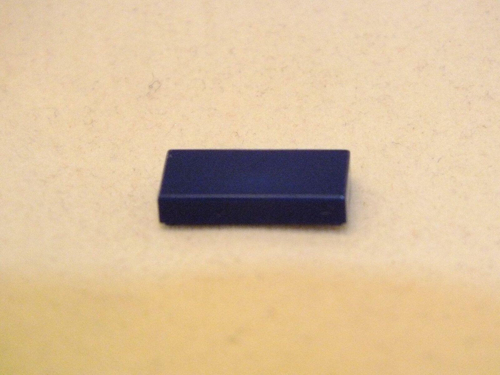 Lego 1X2 Bleu Foncé Plat Carrelage Brique Neuf jamais utilisé 800 PIECES