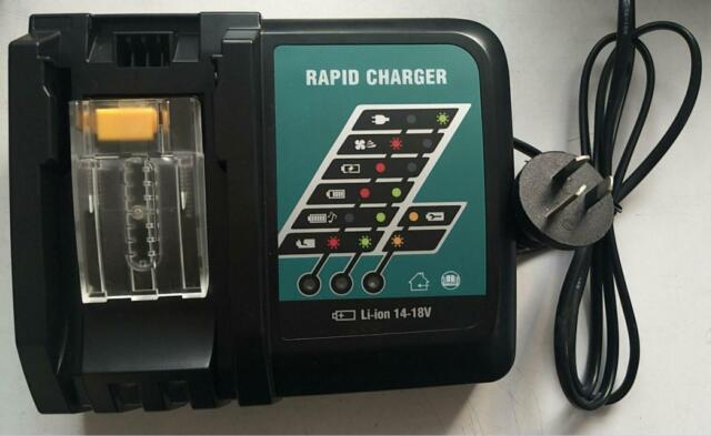 240V DC18RA Charger for Makita BL1830 1815 1840 BL1430 Battery Li-Ion 14.4V-18V