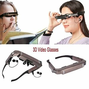 USB-Cable-Vision-800-3D-Video-Glasses-Android-4-4-Video-5MP-Camera-Bluetooth-SD