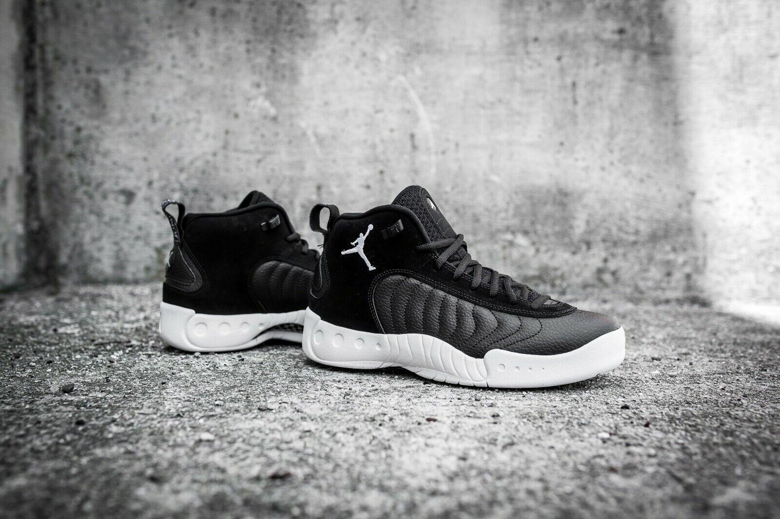 New Nike Jordan Jumpman Pro Size US 11 Black White Leather Men's 906876 010
