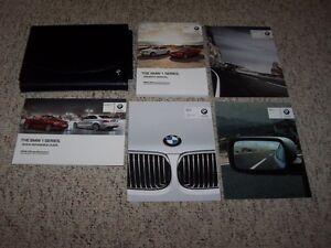 2012 bmw 1 series 128i 135i owner manual user guide coupe rh ebay com 2012 BMW 128I Coupe Review 2012 BMW 328I