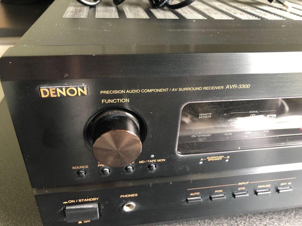 Denon, AVR-3300, 5.1 kanaler