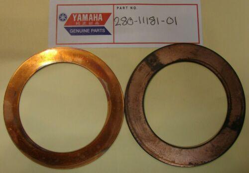 NOS YAMAHA RD250 DS7 TD3 TR3 CYLINDER HEAD GASKETS QTY2 280-11181-01 NEW OEM