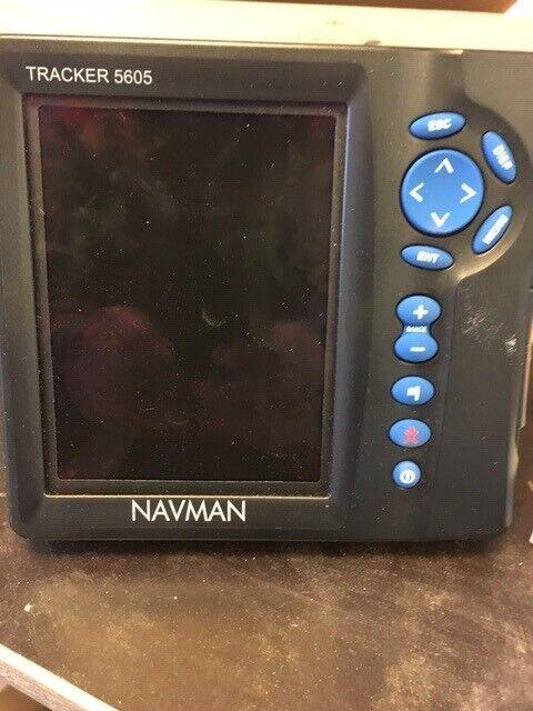 Kortplotter og ekkolod, Navman tracker 5605 og navman fish