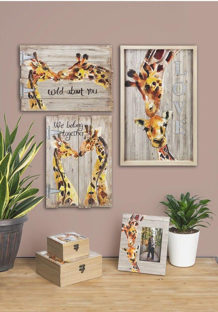 Ganz E9 Safari Giraffe Klappbar Wandtafel 38.1x27.9cm Liebe Liebe Liebe Wächst ER52552 | Jeder beschriebene Artikel ist verfügbar  0fc3fe
