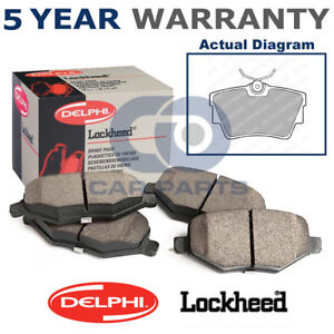 Rear-Delphi-Lockheed-Brake-Pads-For-Nissan-Opel-Renault-Vauxhall-VW-LP1745
