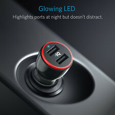 Anker 24w Dual USB Car Charger PowerDrive 2