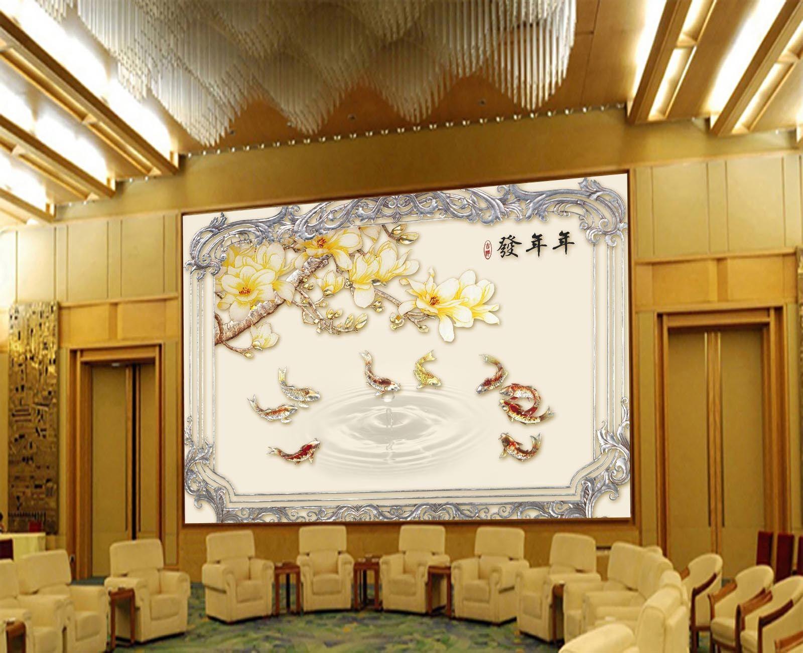 3D Exquisite Fishs 74 Wall Paper Murals Wall Print Wall Wallpaper Mural AU  Kyra