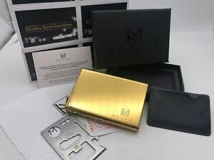 100% QualitäT Mosany| Kreditkartenetui Mit Multitool-card | Aus Hochwertigem Edelstahl | Neu