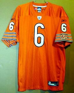 pretty nice 0d6e5 29b63 Details about CHICAGO BEARS JAY CUTLER Orange #6 NFL AUTHENTIC Football  Size 54 JERSEY
