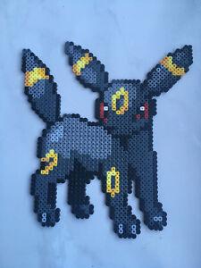 Détails Sur Pixel Art Perles A Repasser Pokemon Noctali