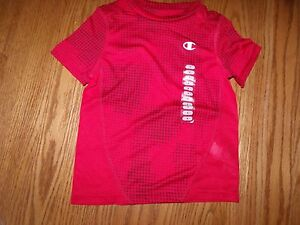 302becb55 New Boys Champion Boys Red Dots Athletic Short Sleeve T-Shirt Size 4 ...