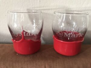 Set-of-2-Makers-Mark-Red-Wax-Dipped-Whiskey-Glasses