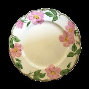 Franciscan-Desert-Rose-10-5-8-Dinner-Plate-Made-In-USA-TV-Logo