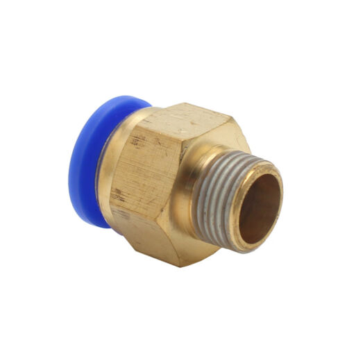 """5PCS 3//8/"""" PT Male Thread 14mm Push In Joint Pneumatic Connector Quick Fittings"""