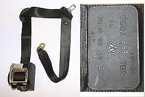 VW Passat Mk6 Left Side Front Seat Belt Safety Belt 3B2 857 705 C
