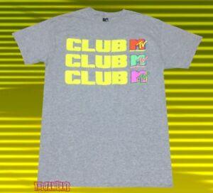 9907d90f683 Details about New MTV Club MTV 1987 Mens Vintage Classic T-Shirt