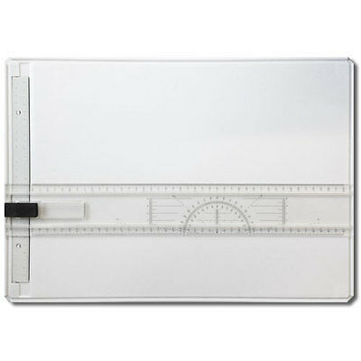 A3 Drawing Board Technical Table - Parallel Motion Ruler with Protractor NEW