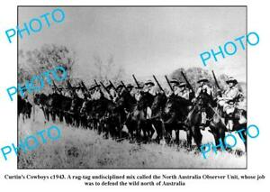 OLD-6-x-4-PHOTO-CURTIN-COWBOYS-WWII-NORTHERN-AUSTRALIAN-DEFENCE-FORCE