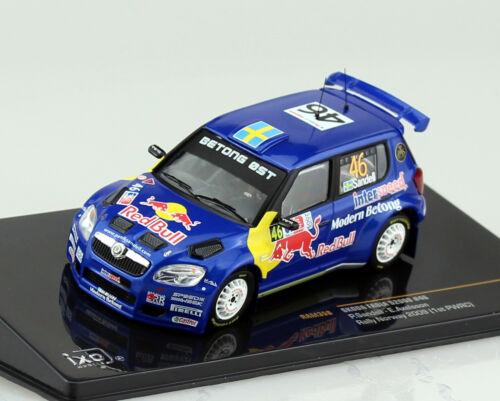 Skoda Fabia S2000 Rally 2009 #46 1:43 Ixo Modellauto RAM358