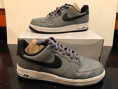 online store c25e5 7e821 Genuine Nike Men s Air Force 1 Sneakers Size 13 Low Shoes -Cool Grey Black