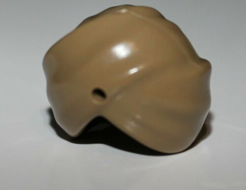 Lego Dark Tan Minifig Headgear Turban Wrap with Hole NEW
