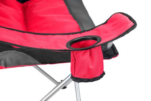 Chaise de Camping housse Pliante et transportable fauteuil de camping Rouge