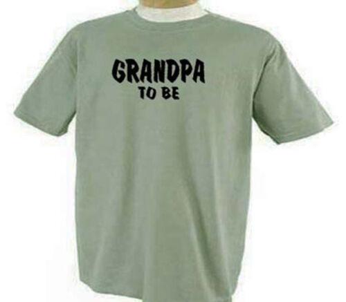 Grandpa To Be Papa Grandfather Maternity Family T-Shirt
