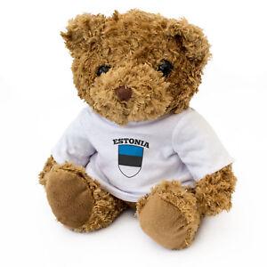 NEW-ESTONIA-Flag-Teddy-Bear-Cute-Soft-Cuddly-Gift-Present-Xmas-BIrthday