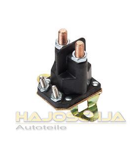 Starter relais magnetschalter starterrelais aufsitzm her for Motor oil fire starter