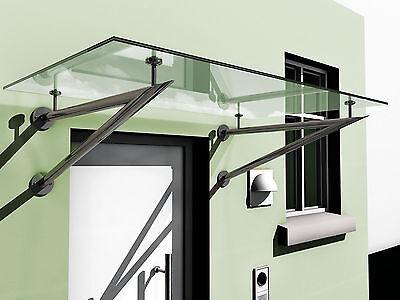 Fassade Nett Glasvordach Vd03 Verbundsicherheisglas Mit Edelstahlhaltern 1400 X 900 Mm Moderne Techniken