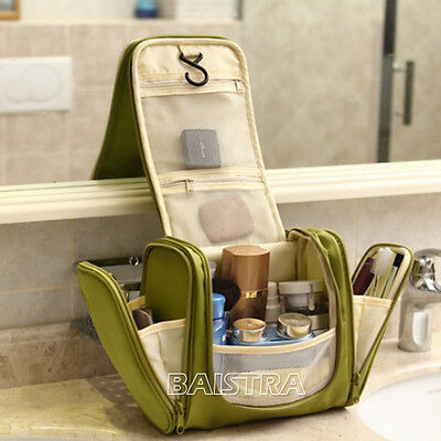 Outdoor Travel Cosmetic Wash Storage Bag Makeup Hanging for Toiletry Grooming