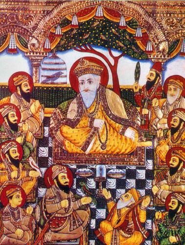 Sikh Gurus Bhai Bale /& Bhai Mardana  7x5 Inch Print