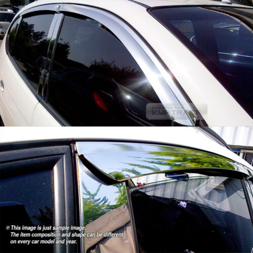 Stainless Steel Chrome Window Under Molding 6P For HYUNDAI 16-18 Elantra