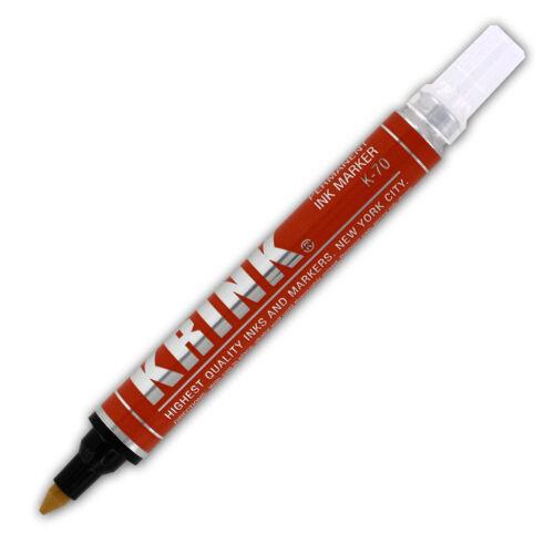 Fine Point K-70-Orange Each Krink K-70 Permanent Paint Marker Orange 12ml